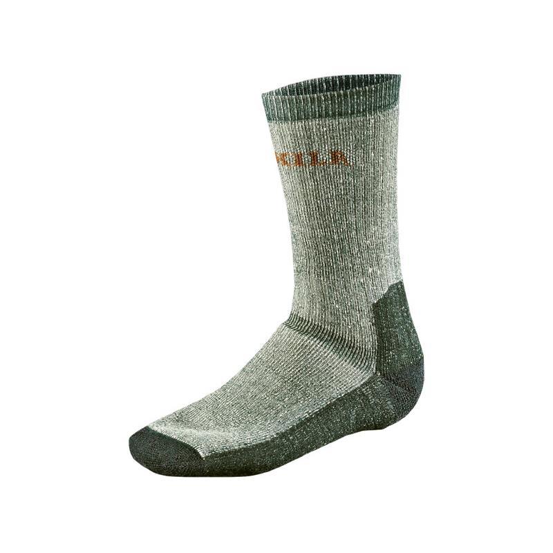 Härkila Expedition sokker lav M 39/42 Grey / Green