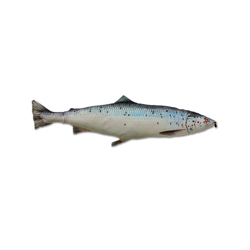 Fladen kosedyr Laks Herlige kosedyr for ekte fiskere