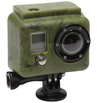 XSories Silicone Cover Skins Camo Green Silikonbeskyttelse til GoPro