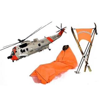Jerven Fjellduken Hunter Rescue orange 102x220cm Primaloft 60 g/m2