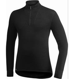 Woolpower Zip Turtleneck 200 200g/m2 fra Ullfrotté
