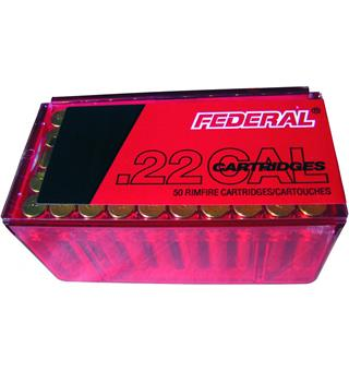 Federal 22 Win Mag JHP 50gr 50-pack