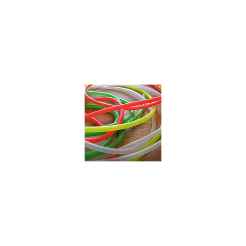 Veniard Silicone Rubber Tube Green Dayglo Green
