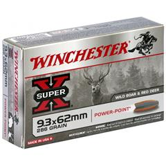 Winchester PowerPoint 9,3x62 286g Super X Power Point