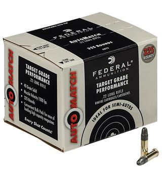 Federal Automatch 22LR Champion 325-pack