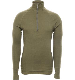Brynje Arctic Tactical Zip Polo Olive Green