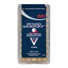 CCI 22 WMR Maxi-Mag 40gr Game Point 50-pack