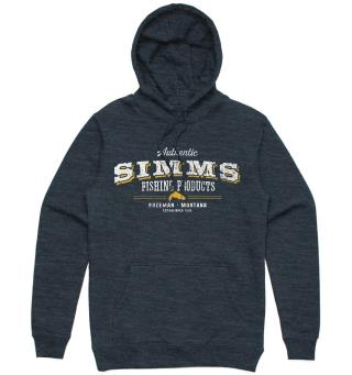 Simms Working Class Hoody L Navy Heather