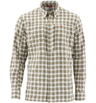 Simms BugStopper Shirt Plaid XL Cork Plaid