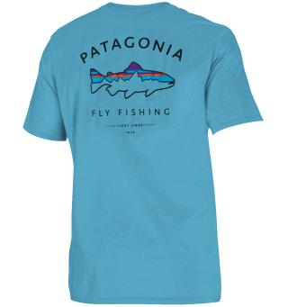 Patagonia Framed Fitz Roy Trout M Lago Blue