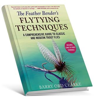 The Feather Bender's Flytying Techniques Bok av Barry Ord Clarke