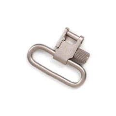 "Uncle Mike QD Super Swivel Med TriLock 1"" Nickel P"