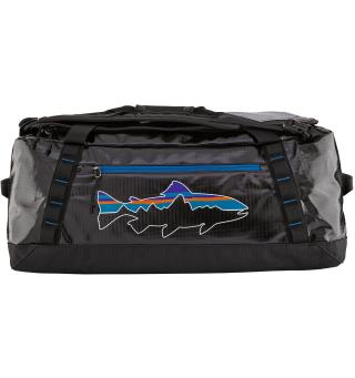 Patagonia Black Hole Duffel 55 L Black w/Fitz Trout