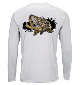 Simms Solar Tech Tee Brown Trout S. S